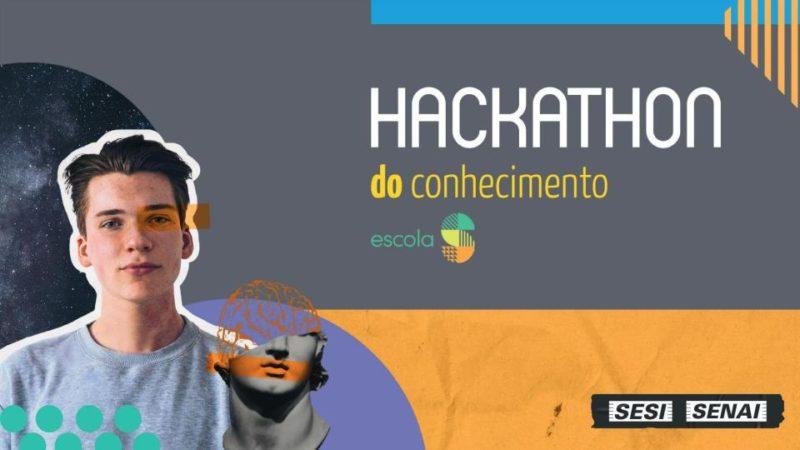 Hackathon do Conhecimento Escola S – Foto: Divulgação