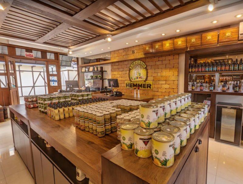 Loja física da Hemmer Alimentos em Blumenau – Foto: Divulgação/Internet