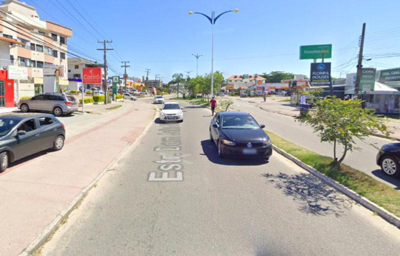 Prisão de suspeito de 25 anos ocorreu em Ingleses, Norte da Ilha de Santa Catarina – Foto: Google Maps/Reprodução/ND