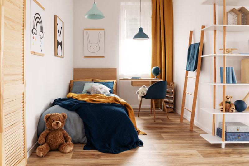 Itens de decoração deixam o quarto com a cara das crianças – Foto: Getty Images/iStockphoto/ND