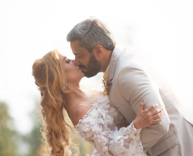 Joelma se casa com novo namorado em clipe – Foto: Reprodução Internet