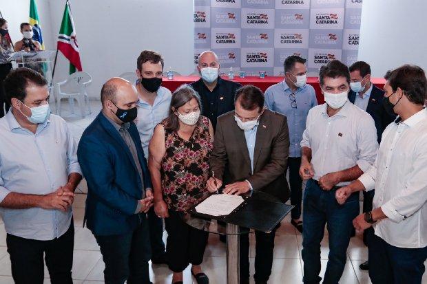 A assinatura da ordem de serviço ocorreu em dezembro de 2020 e a previsão de término é janeiro de de 2022. – Foto: Divulgação