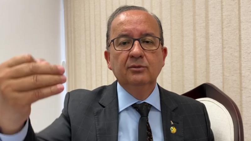 Senador Jorginho Mello em entrevista exclusiva ao blog – Foto: Reprodução/ND