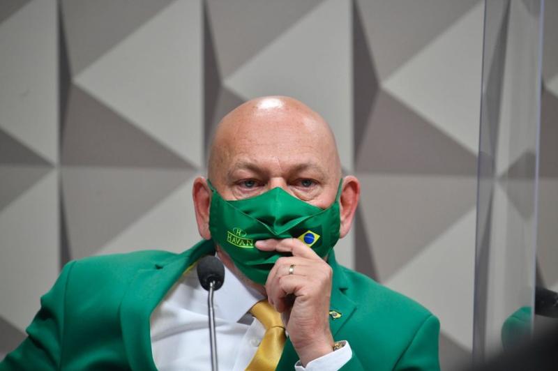 Empresário Luciano Hang, dono das lojas Haban – Foto: Ag. Senado/Divulgação/ND