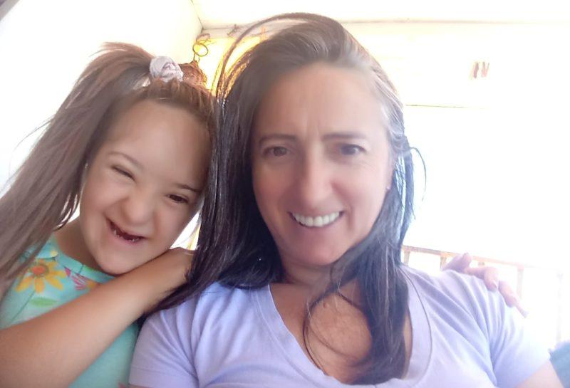 Rosana e Vitória morreram no acidente – Foto: Arquivo pessoal/ND