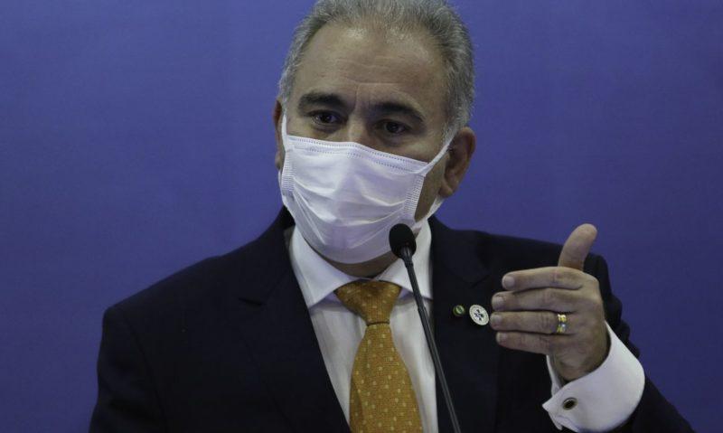 Ministério da Saúde recomendou não vacinar adolescentes sem comorbidades – Foto: Fabio Rodrigues-Pozzebom/Agência Brasil
