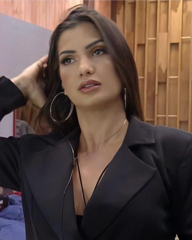 Marina Ferrari foi chamada de rica e herdeira em treta de A Fazenda 13 – Foto: Reprodução Internet