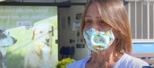 Marisa Fock, gerente do Centro de Bem-estar Animal de Joinville