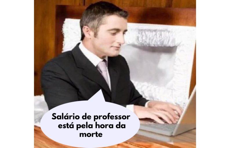 Alunos descobrem que aula online era dada por professor morto – Foto: Reprodução
