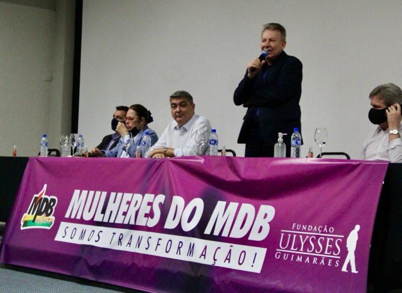 Maldaner fala no Encontro das Mulheres – Foto: Divulgação