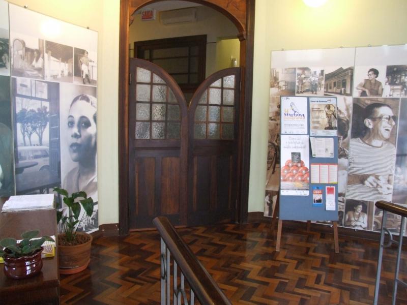 Neide e Zininho na Casa da Memória – Foto: Divulgação/ND