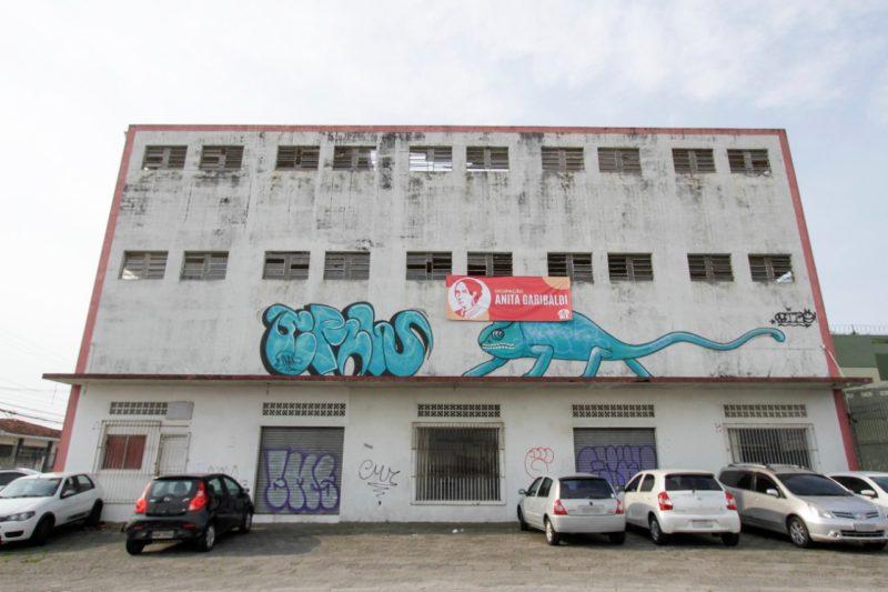 Ocupação Anita Garibaldi em Florianópolis