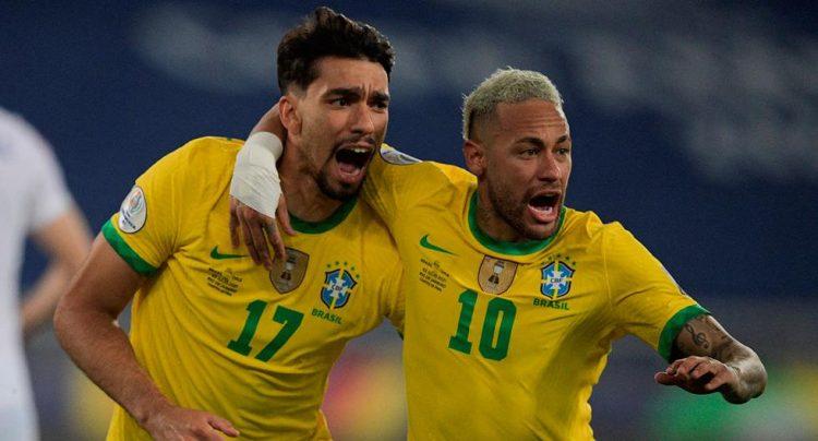 """Neymar desabafa e defende Paquetá após cartão amarelo por drible: """"O famoso 'joga bonito' está acabando"""" – Foto: CBF/ND"""