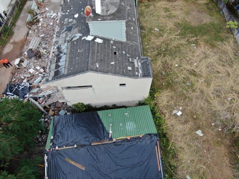 Imóvel onde ocorreu a explosão em Jurerê há quatro meses