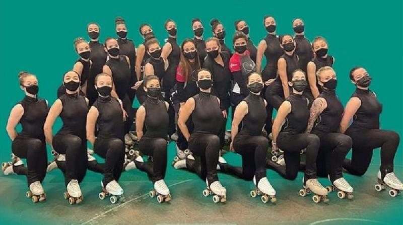 Patinadoras de Florianópolis buscam apoio para participar de campeonato mundial – Foto: Internet/Reprodução/ND