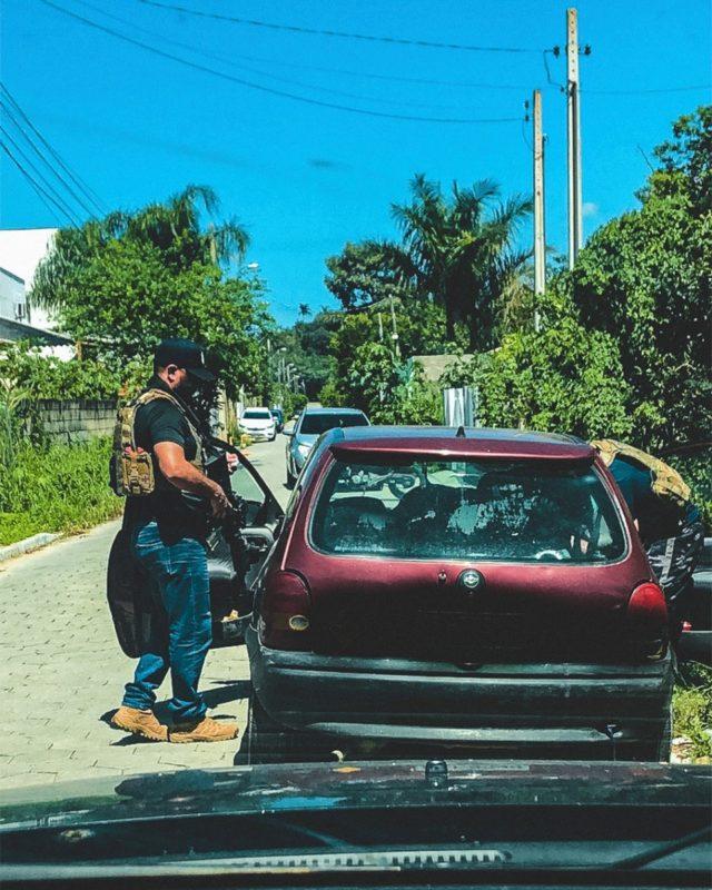 Criminoso responde também por ser integrante de quadrilha no RS – Foto: Polícia Civil de SC/Divulgação/ND