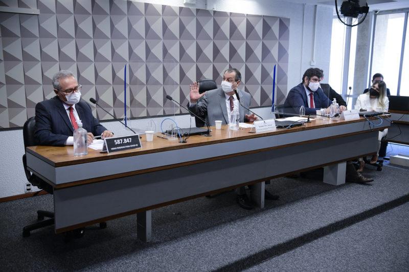 Pedro Benedito Júnior não comparece ao depoimento da CPI da Covid nesta quinta (16) – Foto: Pedro França/Agência Senado/ND