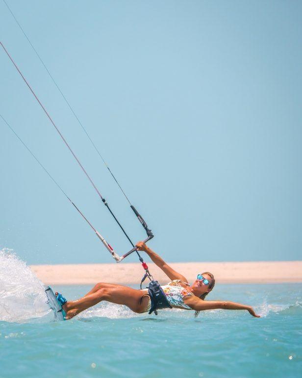 Kitesurfe o esporte que está bombando no momento