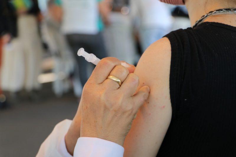 Vacinação ocorre neste sábado (18). – Foto: Prefeitura de Concórdia/Divulgação/ND