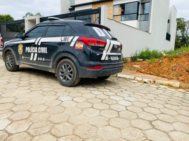 DIC prendeu caixeiro considerado pioneiro na prática em Joinville – Foto: Polícia Civil