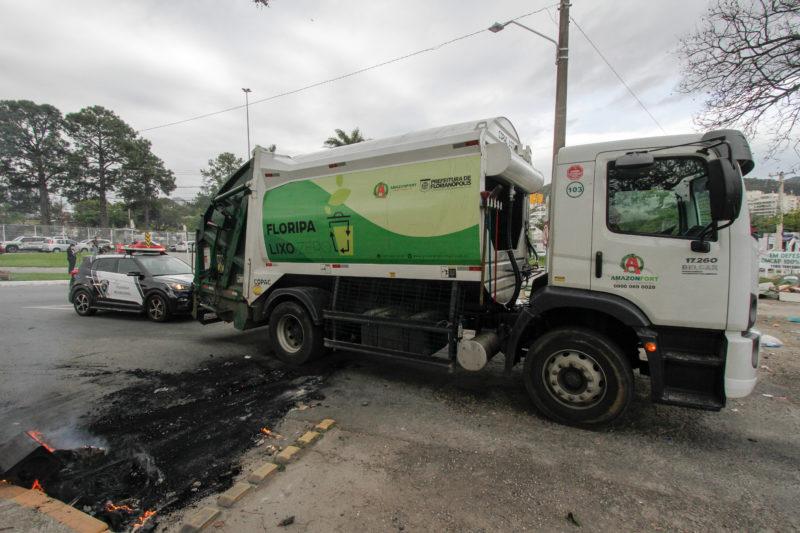 Prefeitura diz que empresa terceirizada continuará com coleta no Norte e no Continente – Foto: Leo Munhoz/ND