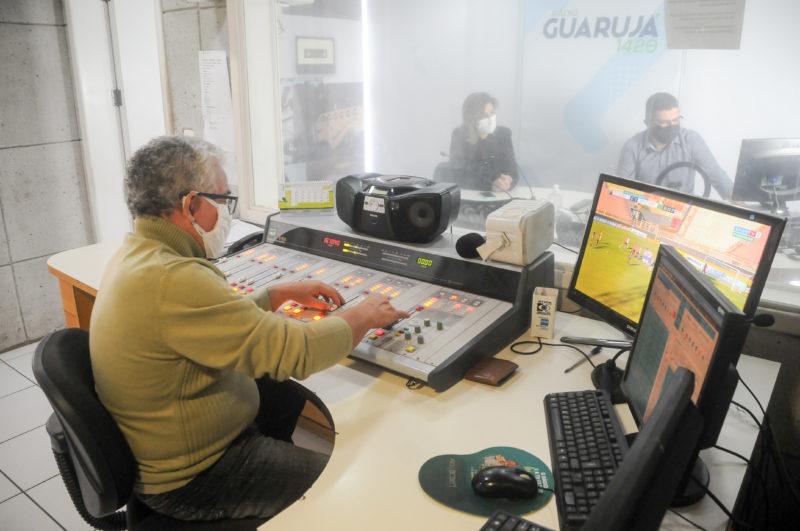 Rádio Guarujá, em Florianópolis; se confunde com a história do rádio na capital – Foto: Leo Munhoz/ND
