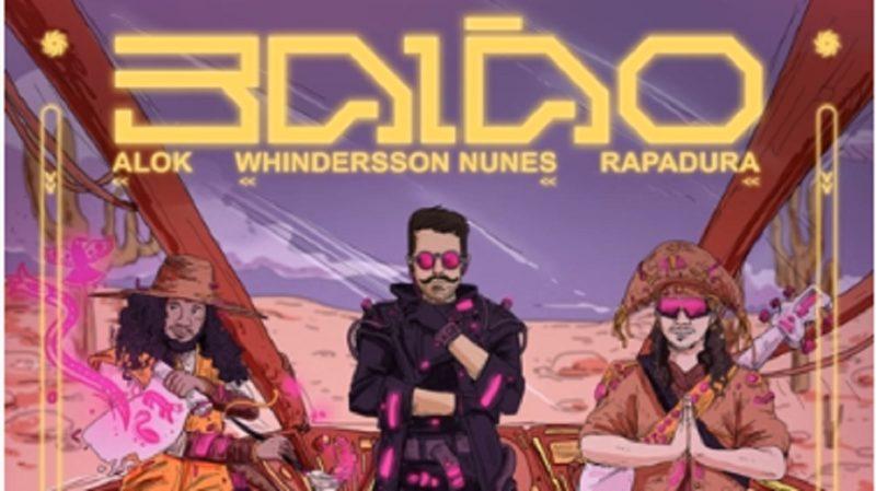 Whindersson Nunes e Alok lançaram o single Baião nesta sexta (17) – Foto: Reprodução/ Youtube