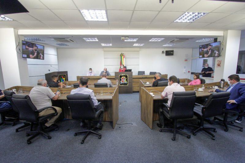 Vereadores conheceram o projeto da nova ETE de Potecas nesta terça-feira (14)