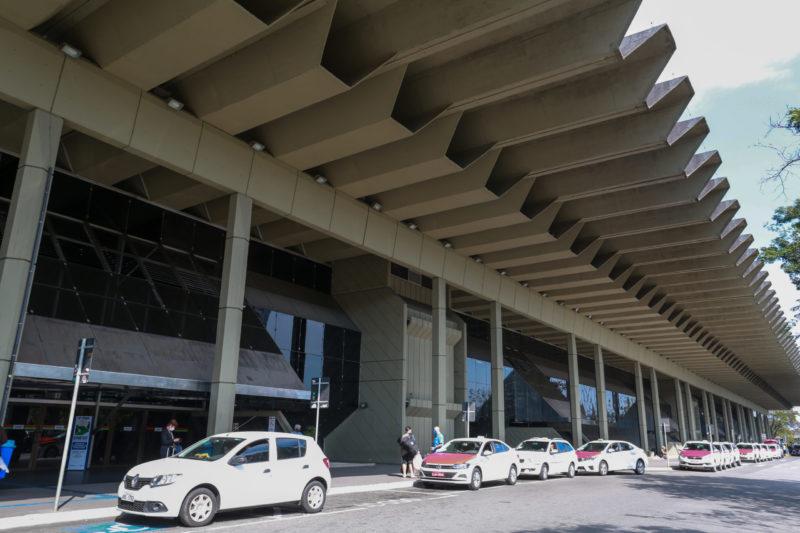 Terminal rodoviário Rita Maria, em Florianópolis – Foto: Julio Cavalheiro/Divulgação/Secom/ND