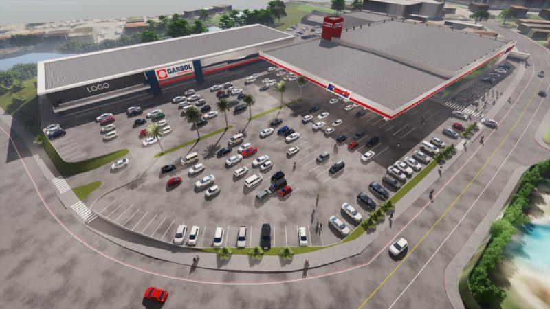 supermercado pronto para inaugurar