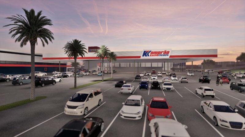 novo supermercado komprão atacadista abrirá as portas em jaraguá do sul