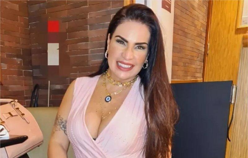 Solange Gomes foi uma das musas da 'Banheira do Gugu' – Foto: Acervo pessoal