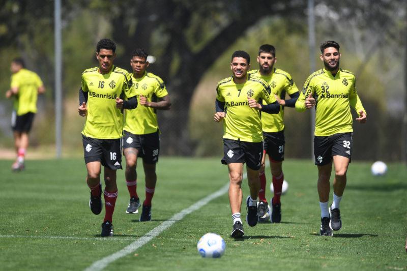 Grupo voltou aos treinos na manhã de hoje – Foto: Ricardo Duarte/Inter/Divulgação