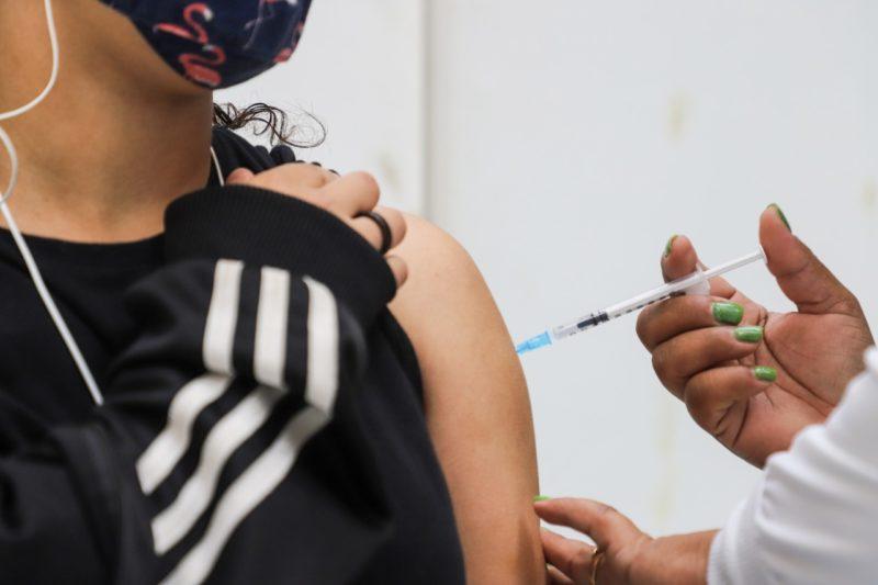 Vacinação em Florianópolis contra a Covid-19 – Foto: Cristiano Andujar/PMF/Divulgação/ND