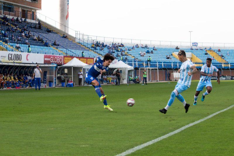 Valdívia fez boa partida nesta terça-feira – Foto: André Palma Ribeiro/Avaí F. C.