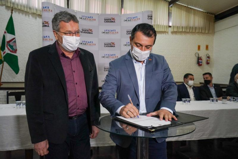Governador anunciou investimentos para a região Norte – Foto: Ricardo Wolffenbuttel/Divulgação