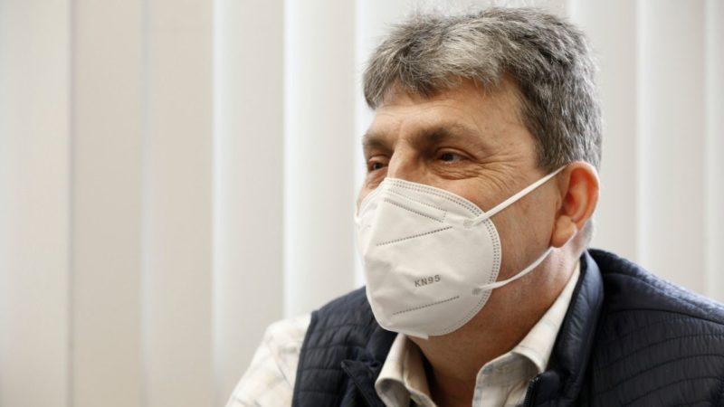 Volnei Burg recebeu um transplante há dois anos