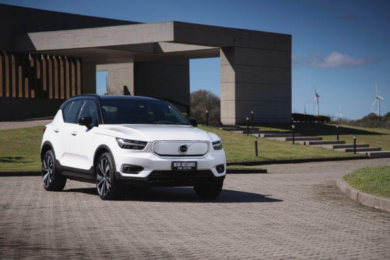 Volvo apresenta XC40 Recharge Pure Electric, SUV totalmente elétrico – Foto: Divulgação/ND