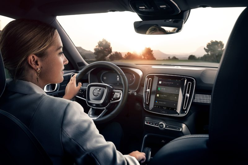 O modelo combina o melhor do estilo escandinavo com a sustentabilidade e chega ao Brasil para fortalecer o compromisso da Volvo– Foto: Divulgação/ND