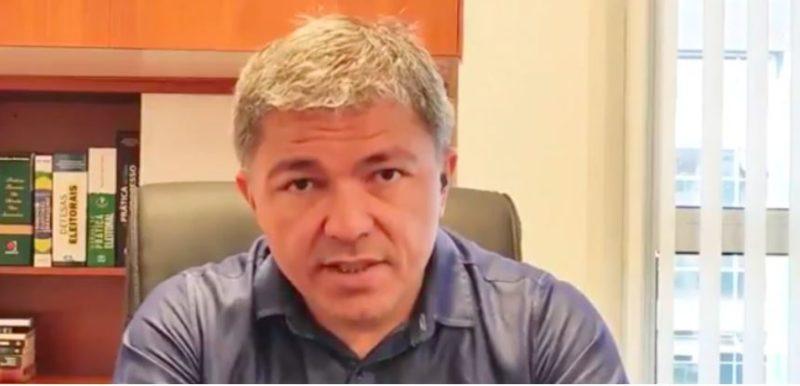 O jornalista Wellington Macedo foi preso após determinação do STF – Foto: Reprodução/Internet