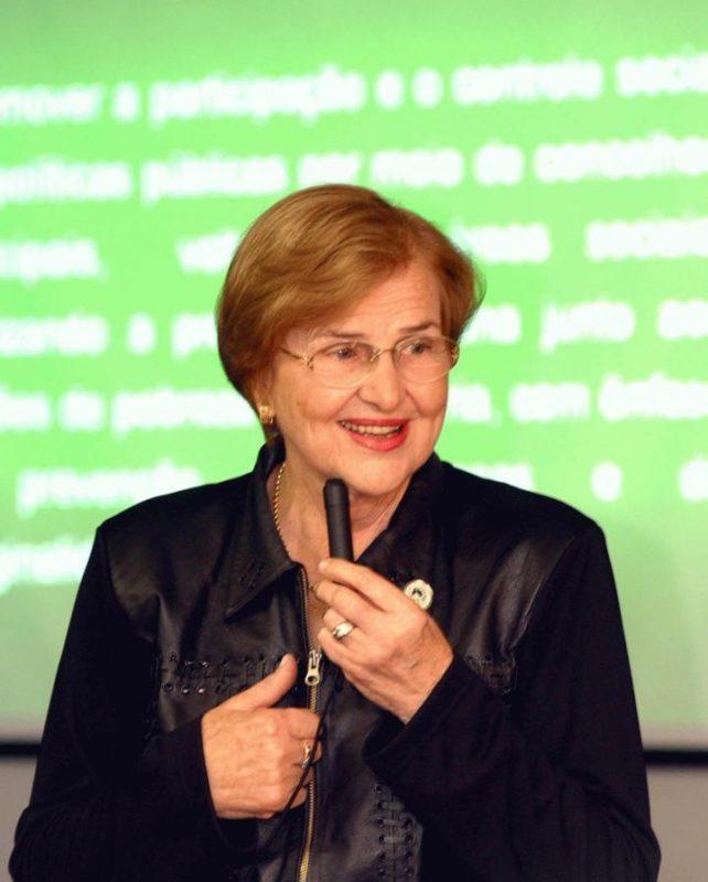 Zilda Arns Neumann virou nome de Neim no Carianos – Foto: PMF/Divulgação/ND