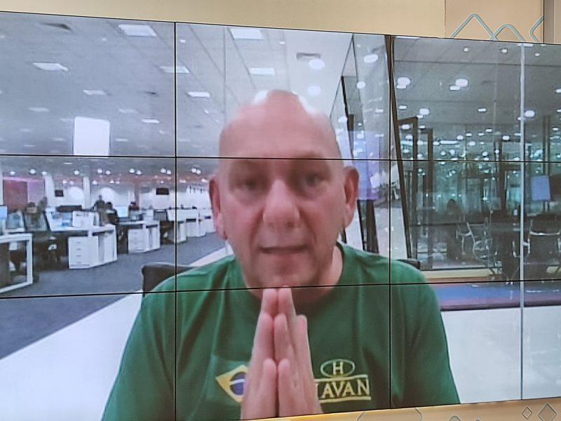 Luciano Hang disse que irá processar os senadores da CPI da Covid – Foto: Paulo Rolemberg/ND