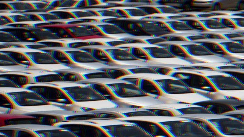 Arte sobre foto ilustrativa de carros – Foto: Banco de Imagens/ND