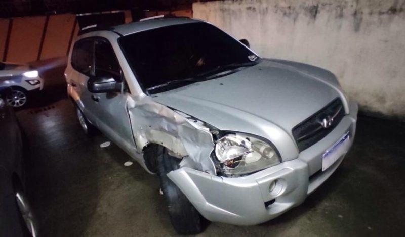 Autor fugiu do local, mas foi encontrado logo depois – Foto: PMSC/Divulgação