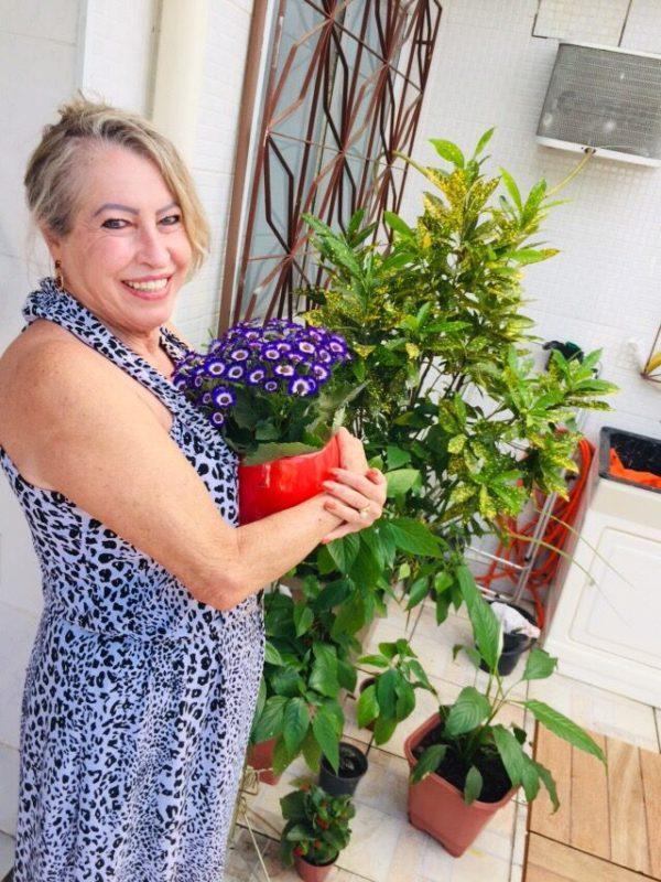 Cristina Maria, 70, tem acompanhamento para doença crônica no programa Quali+Idade- Foto: Divulgação UGF