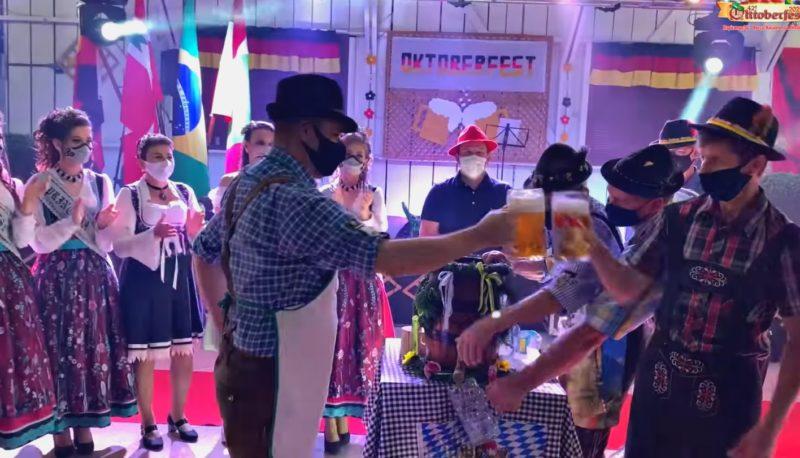 Começou em Itapiranga a 42ª Oktoberfest – Foto: Reprodução/ND