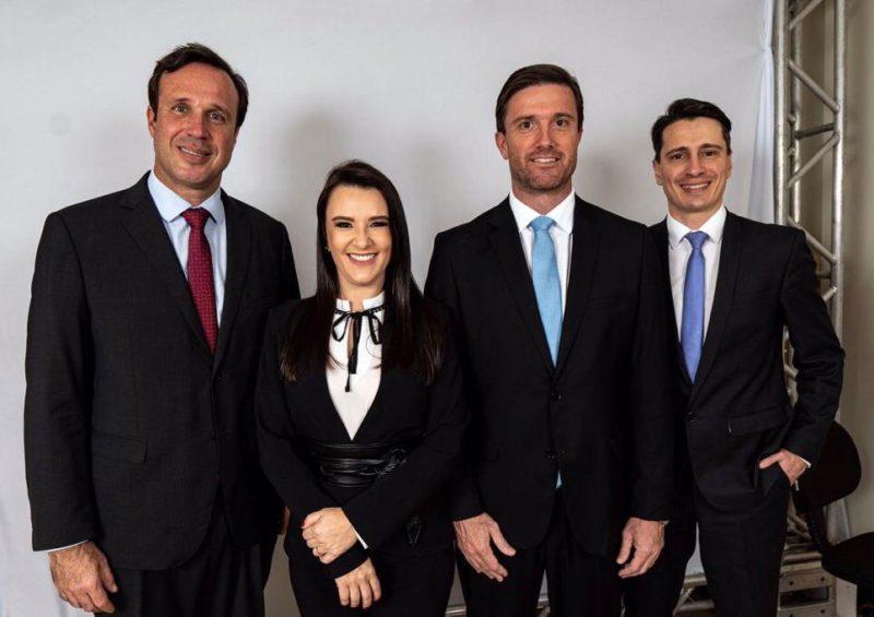 Rafael Horn, Cláudia Prudêncio e Rafael Búrigo são pré-candidatos na chapa estadual e nacional – Foto: David Welter/Divulgação/NDmais